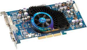 ABIT Siluro FX5700 Ultra, GeForceFX 5700 Ultra, 128MB DDR2, DVI, TV-out, AGP