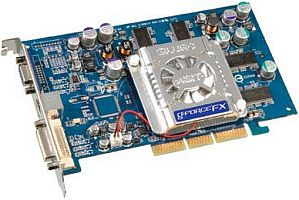 ABIT Siluro FX5700, GeForceFX 5700, 128MB DDR, DVI, TV-out, AGP