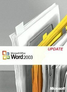 Microsoft: Word 2003 - Update (PC) (059-04432)