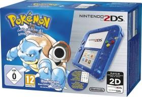 Nintendo 2DS Pokémon Blaue Edition Bundle transparent/blau