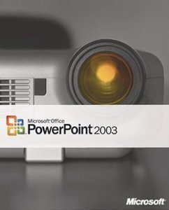 Microsoft PowerPoint 2003 (PC) (079-01975)