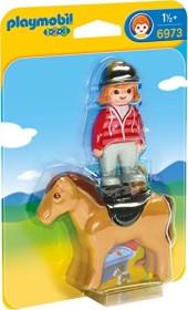 playmobil 1.2.3 - Reiterin mit Pferd (6973)