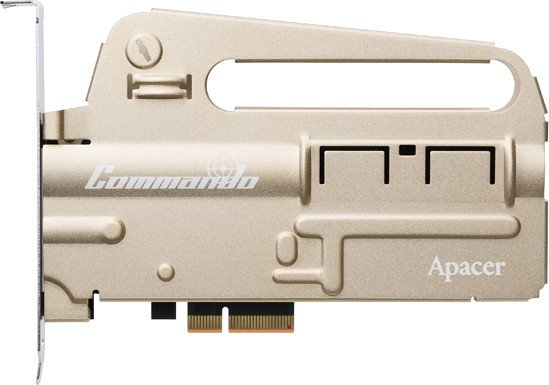 Apacer Commando PT920 480GB, PCIe 3.0 x4 (AP480GPT920Z8G-1)