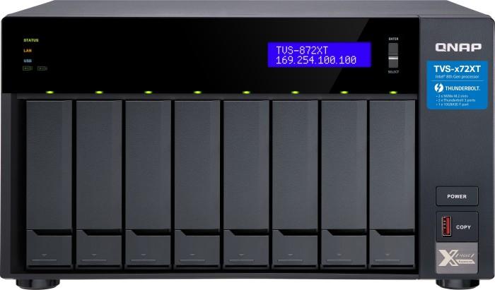 QNAP TVS-872XT-I5-16G, 16GB RAM, 1x 10GBase-T, 2x Gb LAN