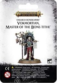 Games Workshop Warhammer Age of Sigmar - Ossiarch Bonereapers - Vokmortian, Master of the Bone-Tithe (99070207012)