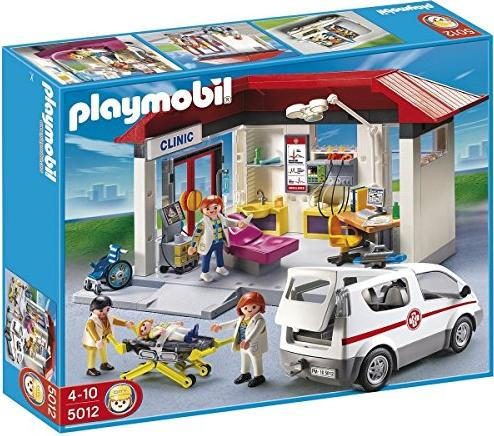 playmobil City Action - Klinik mit Notarzt-PKW (5012) -- via Amazon Partnerprogramm