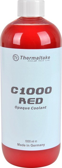 Thermaltake opaque Coolant C1000, coolant, 1000ml, red (CL-W114-OS00RE-A)