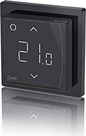 Danfoss ECTemp Smart black, wireless wall thermostat (088L1143)