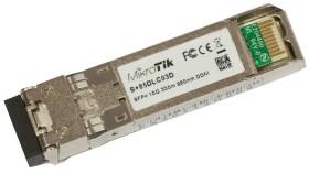 MikroTik RouterBOARD S+85 10G LAN-Transceiver, LC-Duplex MM 300m, SFP+ (S+85DLC03D)