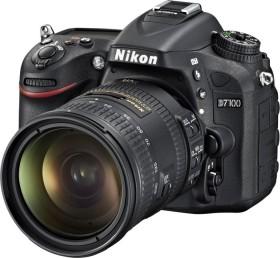 Nikon D7100 schwarz mit Objektiv AF-S VR DX 18-200mm 3.5-5.6G ED II (VBA360K004)