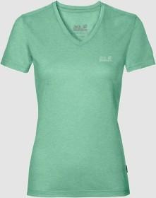 Jack Wolfskin Crosstrail Shirt kurzarm pacific green (Damen) (1801692-4076)