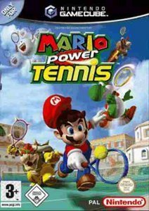 Mario Power tennis (German) (GC)