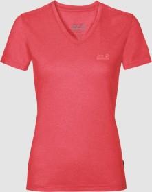 Jack Wolfskin Crosstrail Shirt kurzarm tulip red (Damen) (1801692-2058)