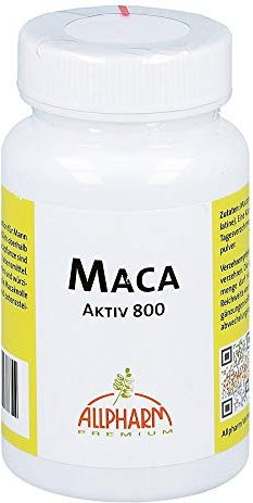 Allpharm Maca active 800 capsules, 50 pieces