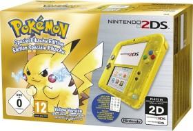 Nintendo 2DS Pokémon Gelbe Edition Bundle transparent/gelb