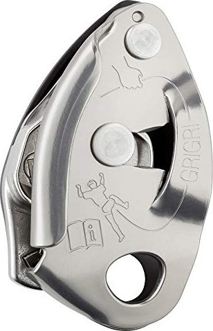 Petzl GriGri 2 semi automatic belay device grey (D14BG)