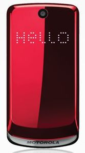 Motorola Gleam red