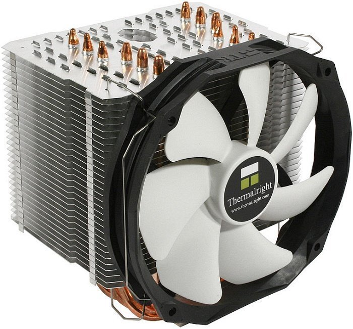 Thermalright HR-02 Macho Rev. A (BW) -- Rev. A (c) PC-Cooling.de