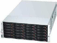 Supermicro SuperChassis 847E1C-R1K28JBOD schwarz, 4HE, 1280W redundant (CSE-847E1C-R1K28JBOD)