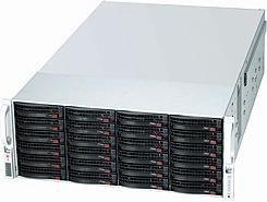Supermicro SuperChassis 847E1C-R1K28JBOD schwarz, 4HE, 1280W redundant [Subsystem] (CSE-847E1C-R1K28JBOD)