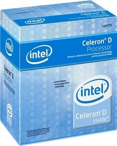 Intel Celeron D 331, 2.67GHz, 133MHz FSB, 256kB Cache, boxed (BX80547RE2667CN)