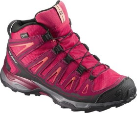 Salomon X-Ultra mid GTX virtual pink/beet red/living coral (Junior) (398651)
