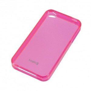 Logic3 Gel Case für iPhone 4/4S pink (IPP222PK)