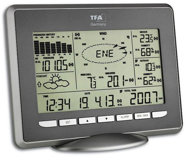 Digital Weather Station : Tfa dostmann opus wireless weather station digital