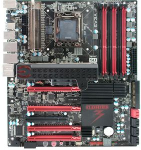 EVGA Classified 3, X58 (triple PC3-10667U DDR3) (141-GT-E770-ER)