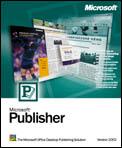 Microsoft Publisher 2003 (PC) (164-02950)