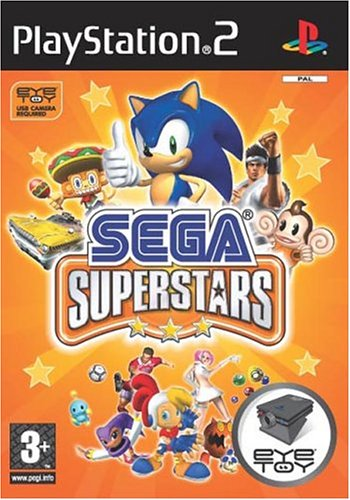 Sega Superstars - für EyeToy (niemiecki) (PS2) -- via Amazon Partnerprogramm