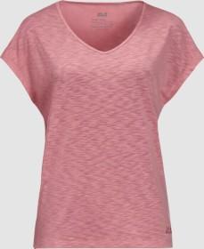 Jack Wolfskin Travel Shirt kurzarm rose quartz (Damen) (1806552-2131)