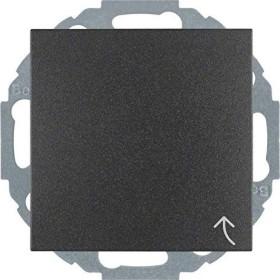 Berker Steckdose SCHUKO 45°-Stufen variable Einbaulage, anthrazit matt (47441606)