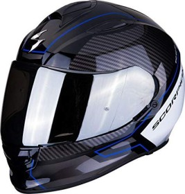 Scorpion EXO-510 Air Frame schwarz/blau/weiß (verschiedene Größen)