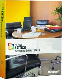 Microsoft: Office 2003 Standard (niemiecki) (PC) (021-06321)