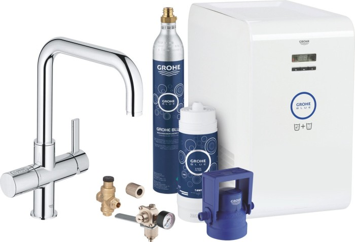 Grohe Blue Chilled&Sparkling starter kit chrome (31324001)