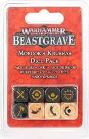 Games Workshop Warhammer Underworlds: Beastgrave - Morgoks Brechaz Würfelset (99220709009)