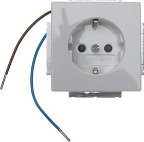 Busch-Jaeger Power Plugs-insert bush-steplight, studio white (20 EUCBLI-84)