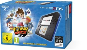 Nintendo 2DS Yo-Kai Watch Bundle schwarz/blau