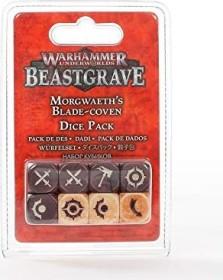 Games Workshop Warhammer Underworlds: Beastgrave - Morgwaeths Klingenzirkel Würfelset (99220712002)