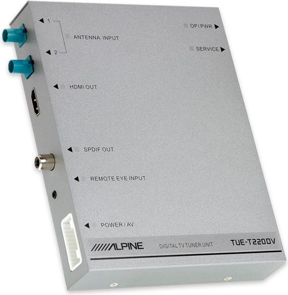 Alpine TUE-T220DV DVB-T/T2 Receiver