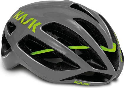 Kask Protone Helmet anthracite lime