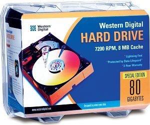 Western Digital WD Caviar Blue 80GB, retail, IDE (WD800JBRTL2)