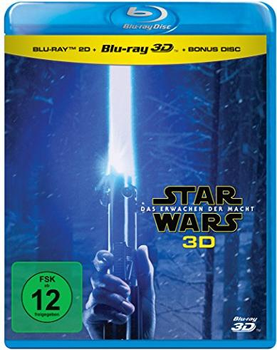 Star Wars - Episode 7: Das Erwachen der Macht (3D) (Blu-ray) -- via Amazon Partnerprogramm