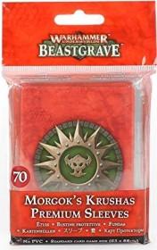 Games Workshop Warhammer Underworlds: Beastgrave - Morgoks Brechaz Kartenhüllen (99220709008)