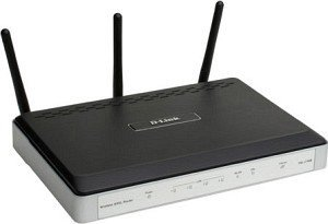 D-Link wireless N DSL-2740B Router/ADSL2+ Modem, 300Mbps (MIMO)