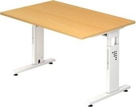 Hammerbacher Ergonomic O-Serie OS12/6/W, Buche, Schreibtisch