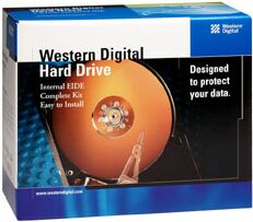 Western Digital WD EIDE Hard Drive Kit 40GB Specials Edition retail, IDE (WD400JBRTL)