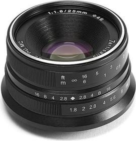 7artisans 25mm 1.8 for Sony E black