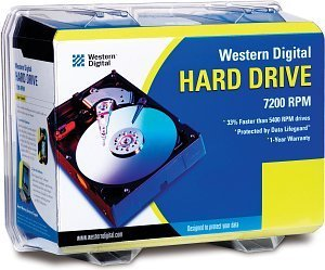 Western Digital EIDE Hard Drive Kit 180GB, IDE (WD1800BBRTL)